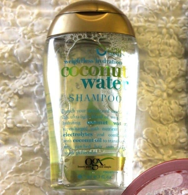 OGX Coconut Water Shampoo Review 1