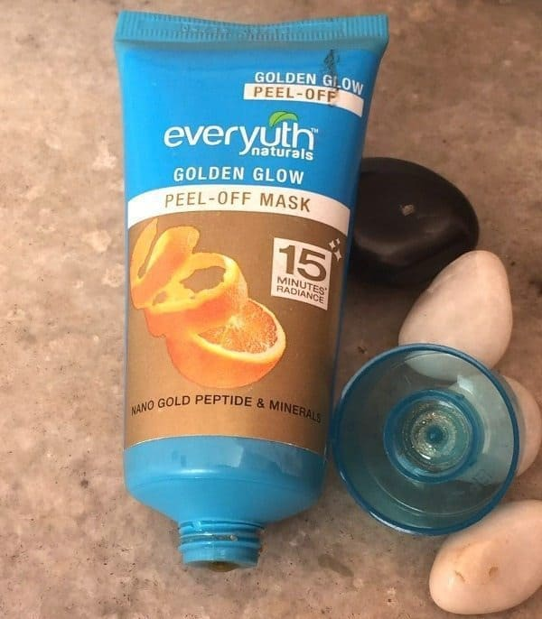 Everyuth Natural Golden Glow Peel Off Review (4)