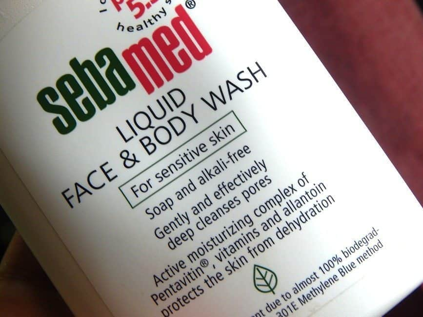 Sebamed Liquid Face and Body Wash Review