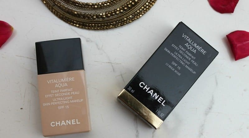 Chanel Vitalumière Aqua Foundation Review