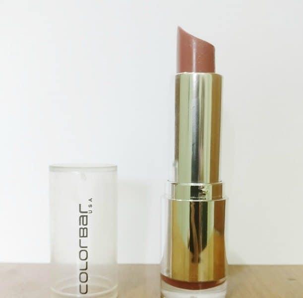 Colorbar Velvet Matte Lipstick Bare 58 Review 5