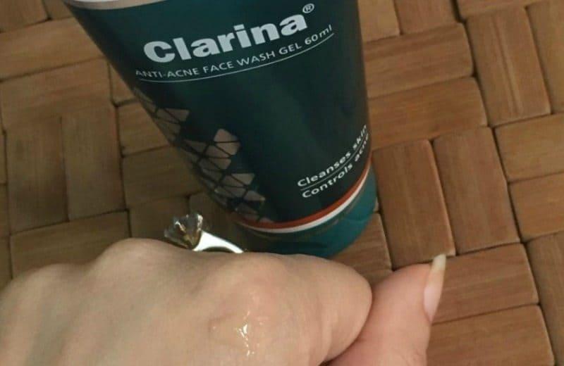 Himalaya Clarina Anti Acne Face Wash Gel Review 3