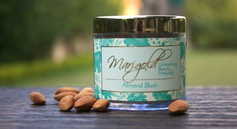 Marigold Naturals Almond Blush Review 4