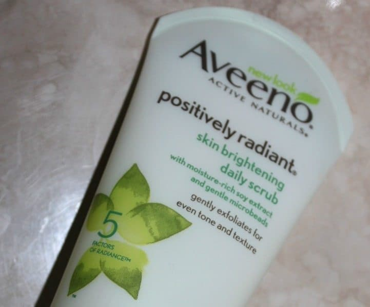 Aveeno Positively Radiant Skin Brightening Daily Scrub 1
