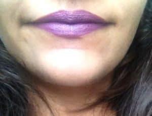 Colorbar Velvet Matte Lipstick Special Mauve Review 4