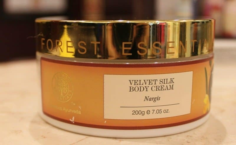 Forest Essentials Velvet Silk Body Cream Nargis Review
