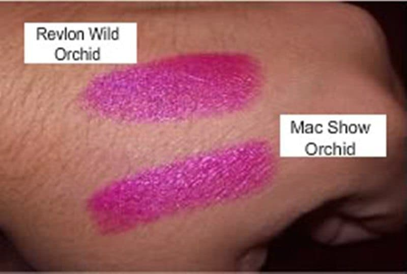 MAC show Orchid Dupes 2