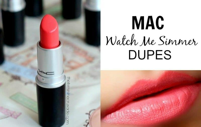 MAC watch me simmer dupes ! 3
