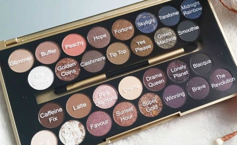 Makeup Revolution Fortune Favors The Brave Eyeshadow Palette 9