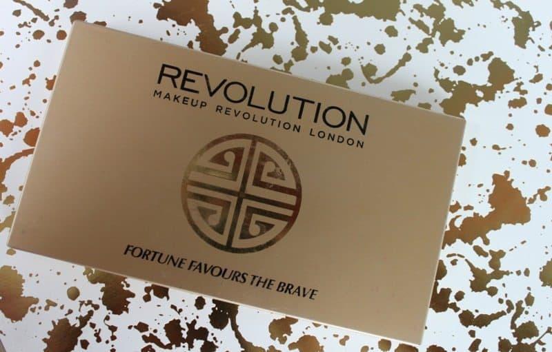 Makeup Revolution Fortune Favors The Brave Eyeshadow Palette 10