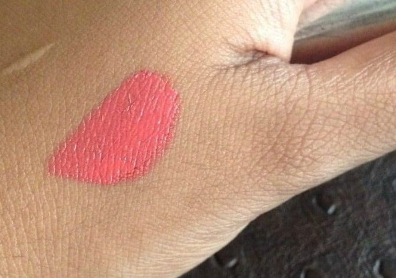 Colorbar Kiss Proof Lip Stain 005 Palm Beach Review 4