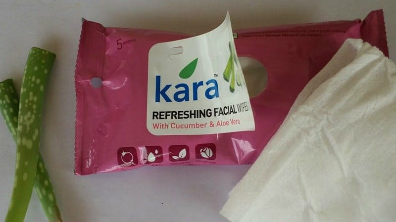 Kara Refreshing Facial Wipes with Aloe Vera and Cucumber Review
