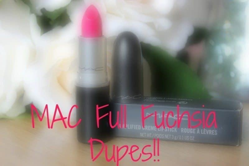 mac full fuchsia dupes