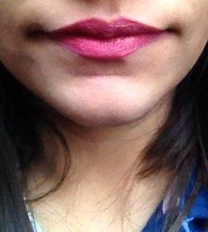 Colorbar Velvet Matte Lipstick Demure Review ,colorbar demure, colorbar matte lipstick 4