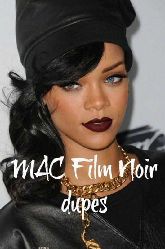 MAC Film Noir Dupes 1