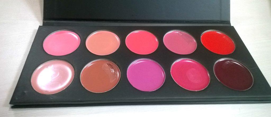 Karity 10 Creamy Lip Palette Review 4