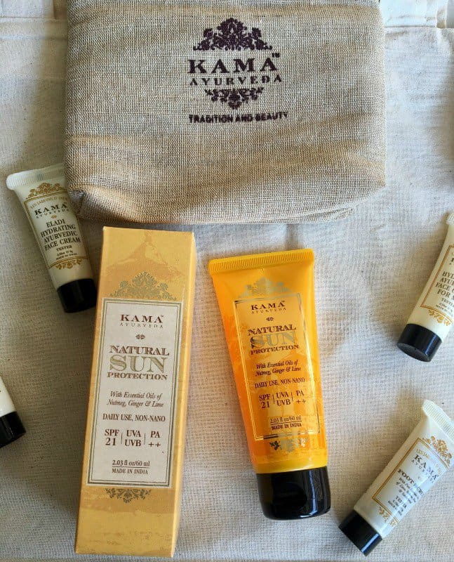 All Natural Sunscreen Kama Ayurveda Natural Sun Protection