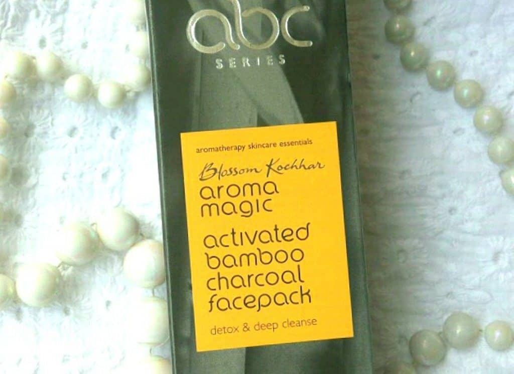 Aroma Magic Activated Bamboo Charcoal Face Pack Review 4