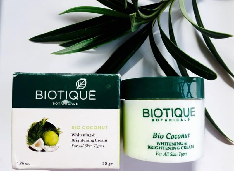 Biotique Bio Coconut Whitening and Brightening Cream 1