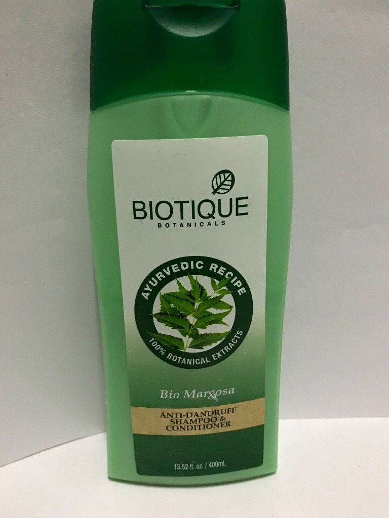Biotique Botanicals Bio Margosa Anti-Dandruff Shampoo & Conditioner Review 2