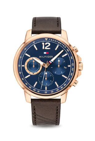 Tommy Hilfiger Analog Blue Dial Men's Watch - TH1791532
