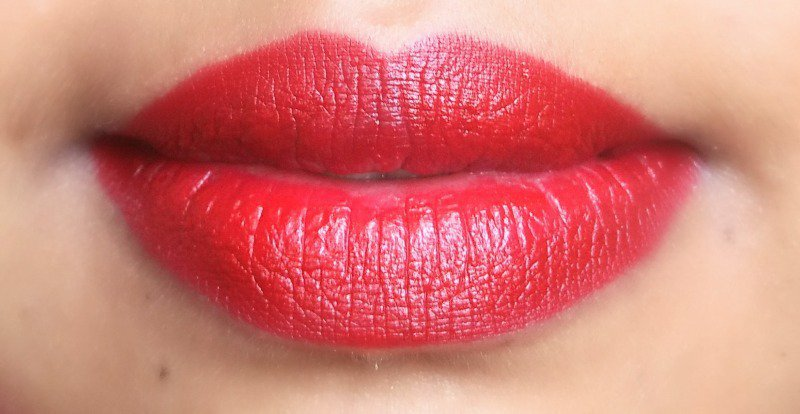 Colorbar Velvet Matte Lipstick All Fired Up 4