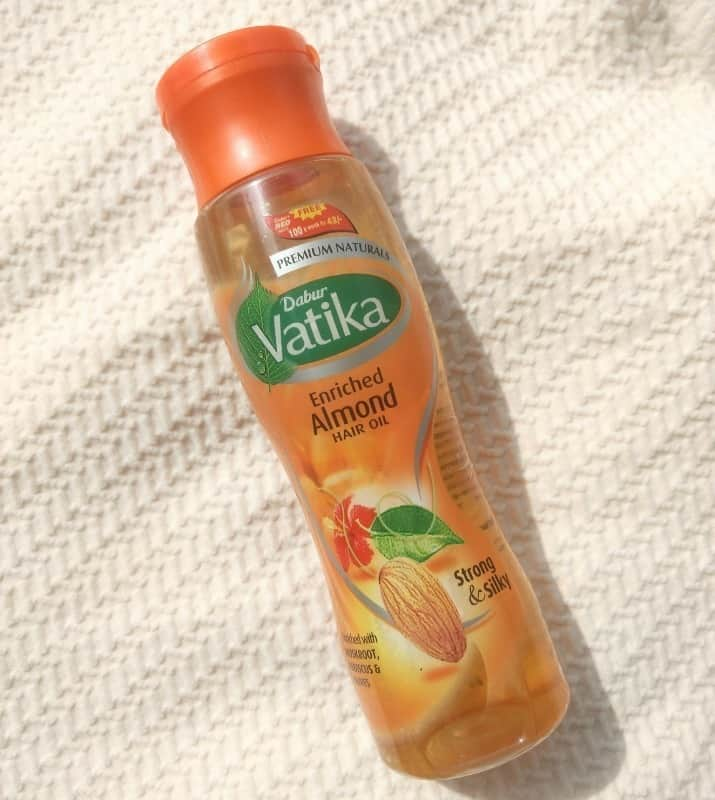Dabur Vatika Enriched Almond Hair Oil