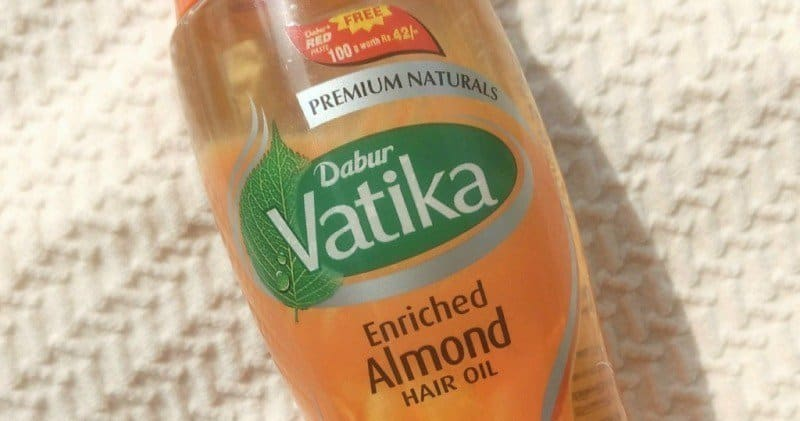Dabur Vatika Enriched Almond Hair Oil  2