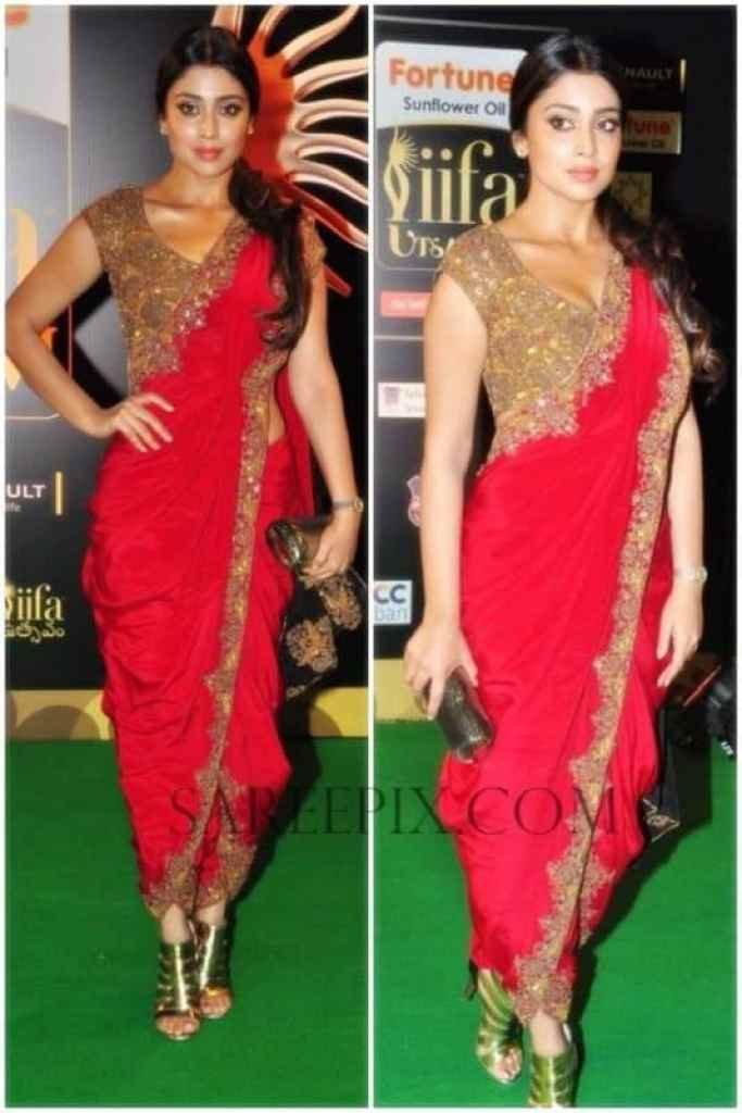 Dhoti Sari Fashion Look of The Day + How to Drape ! 1