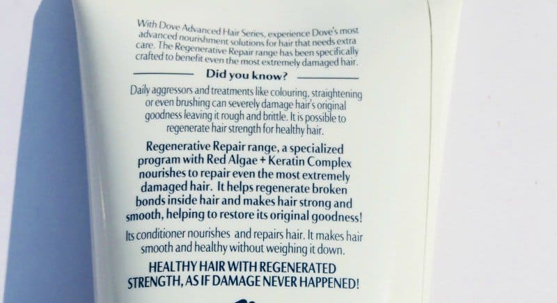 Dove Regenerative Shampoo And Conditioner 3