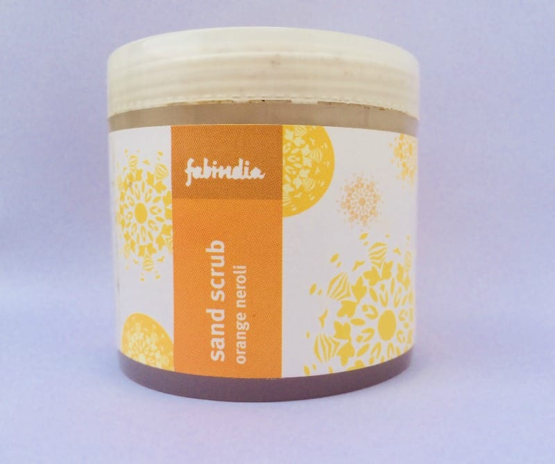 Fab India Orange Neroli Sand Scrub 3