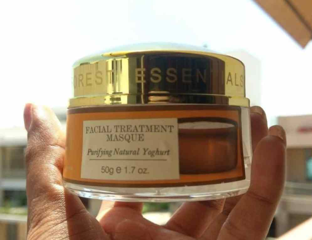 Forrest Essentials Facial Treatment Masque Purifying Natural Yogurt Review