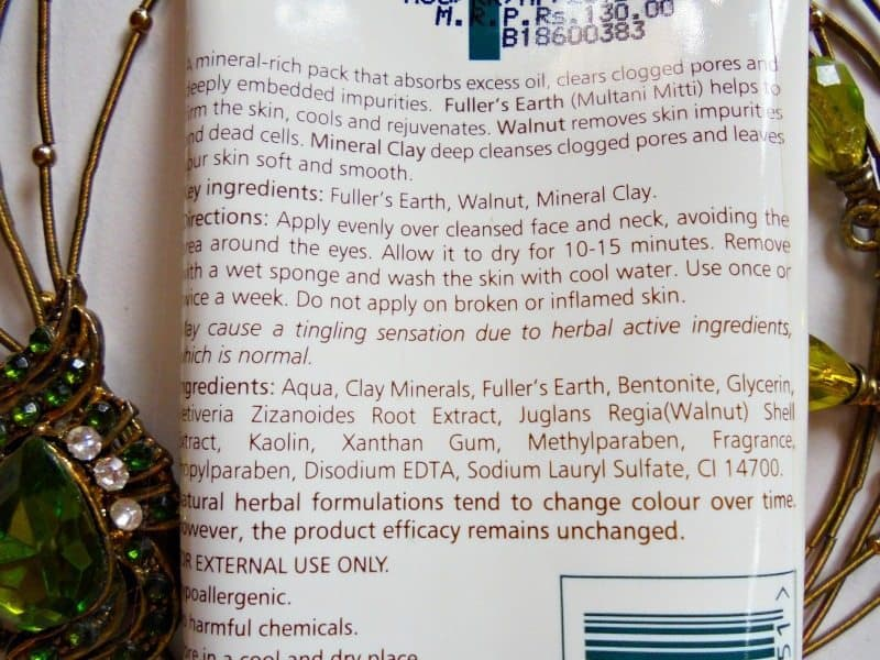 Himalaya Herbals Oil Clear Mud Face Pack Review 2
