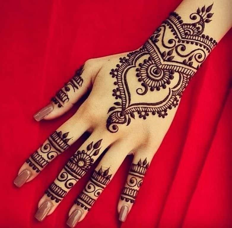 How to Clear Fading Mehendi ! 4