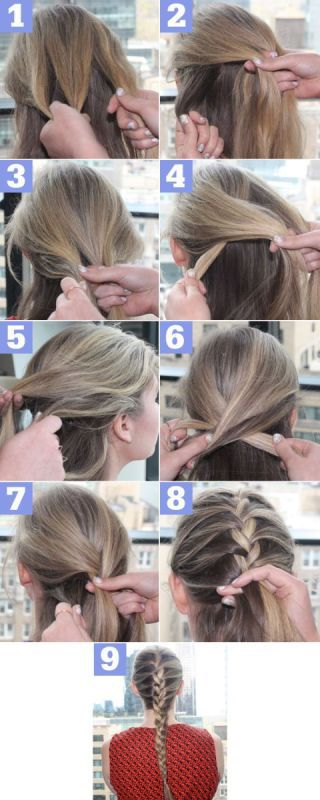How to French Braid – Step by Step