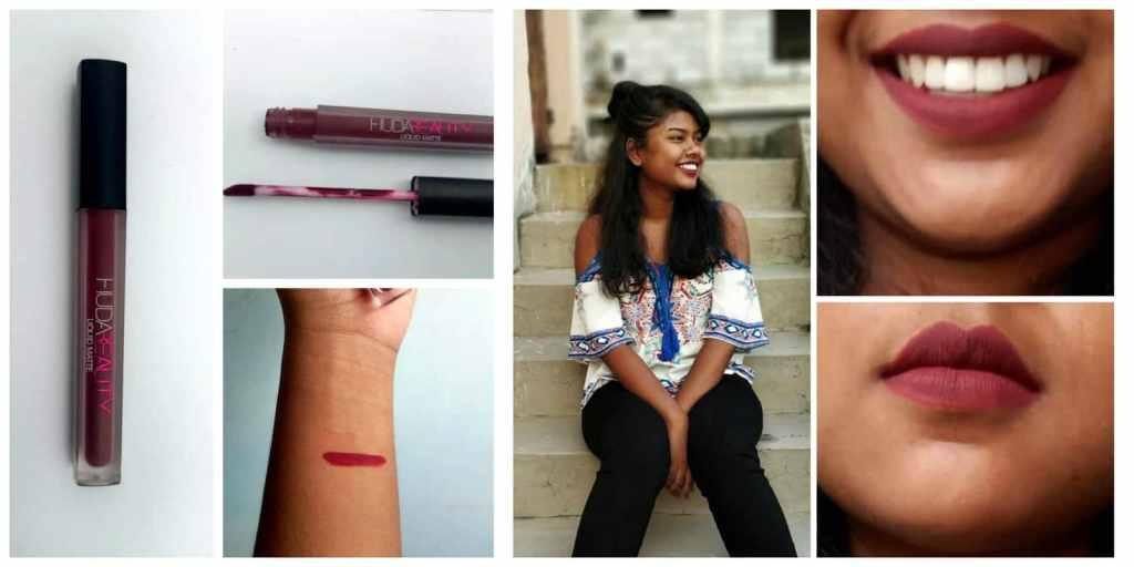 Huda Beauty Famous Liquid Matte Lipstick