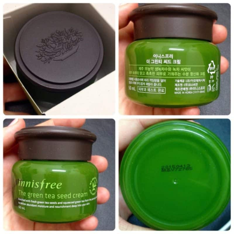 Innisfree Green Tea Seed Cream 1