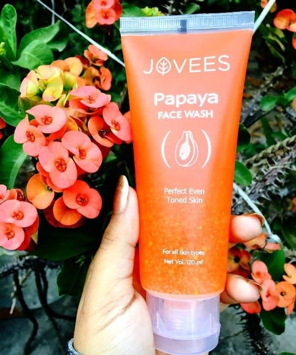 Jovees Papaya Face Wash Review