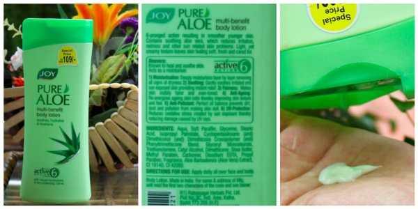 Joy Pure Aloe Body Lotion