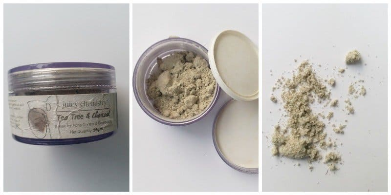 Juicy Chemistry Charcoal Face Mask