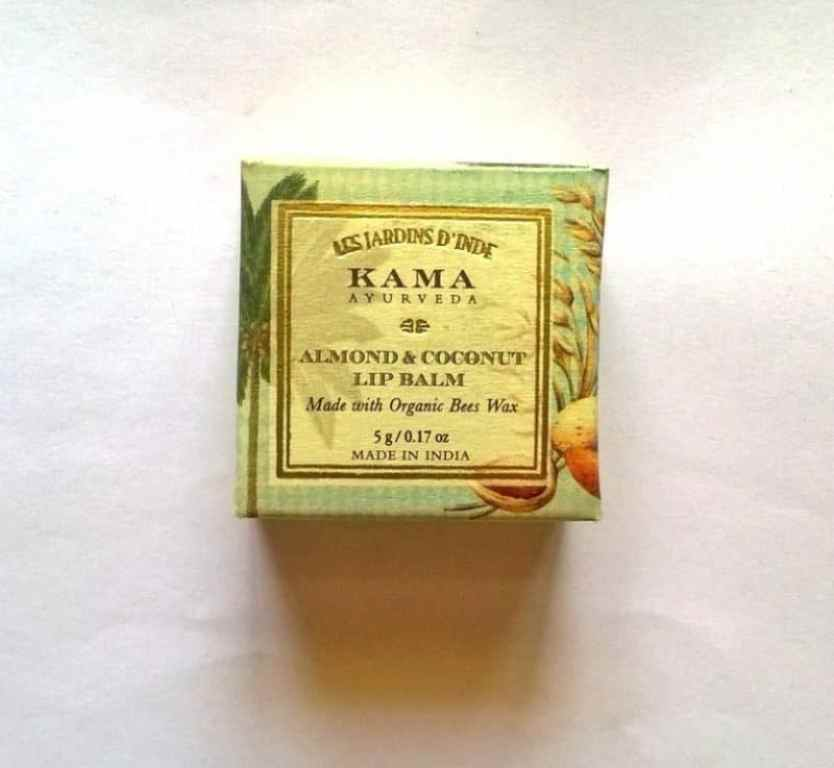 Kama Ayurveda Almond And Coconut Lip Balm Review