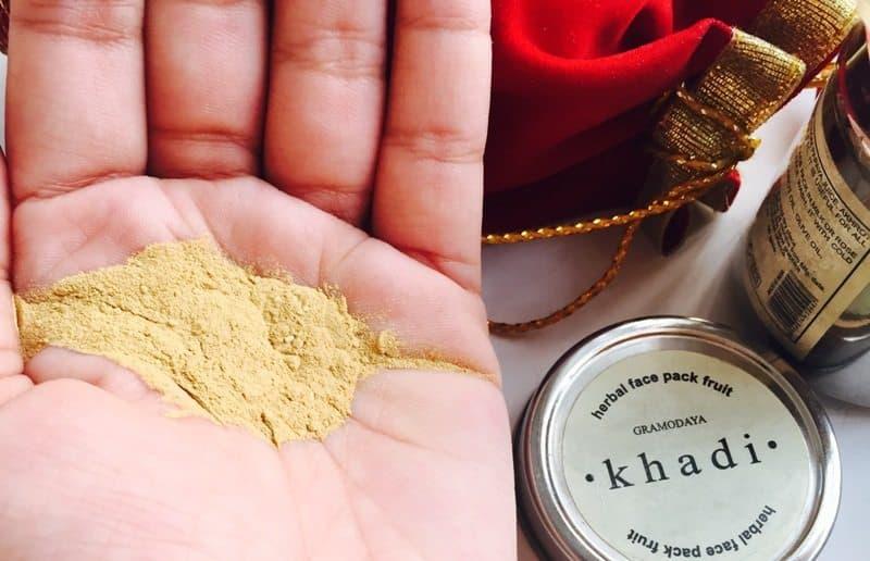 Khadi Fruit Herbal Face Pack 3