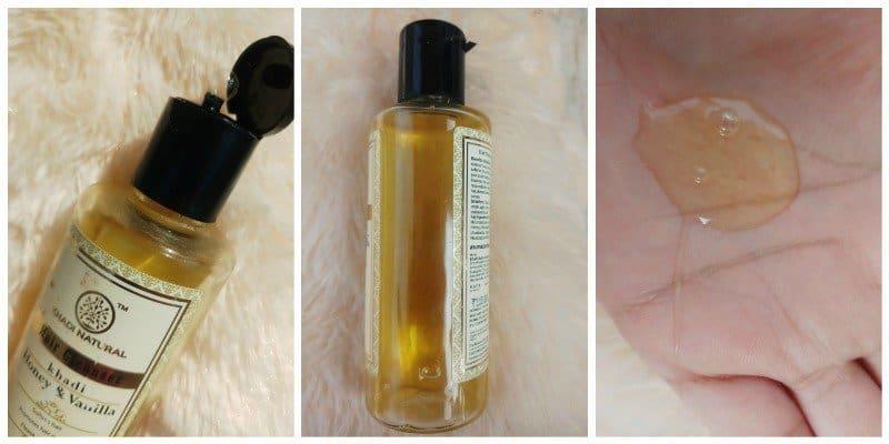 Khadi Honey and Vanilla Hair Cleanser