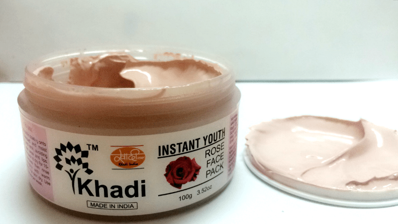 Khadi Instant Youth Rose Face Pack 1