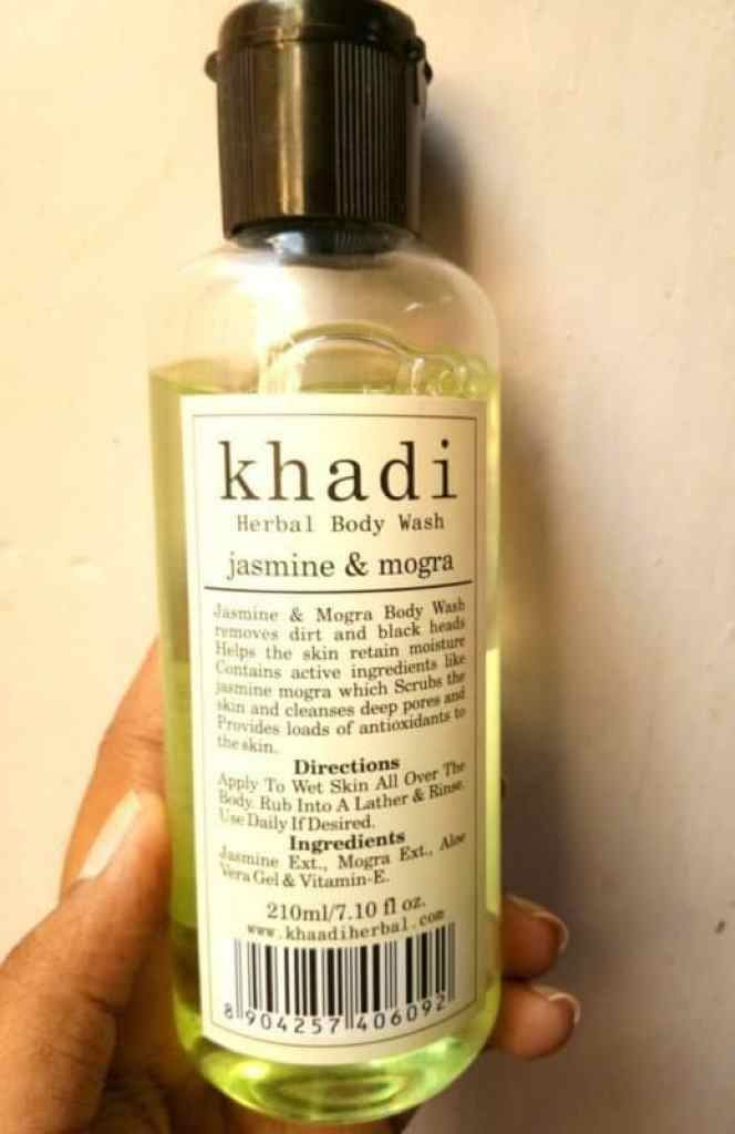 Khadi Jasmine and Mogra Herbal Body Wash Review