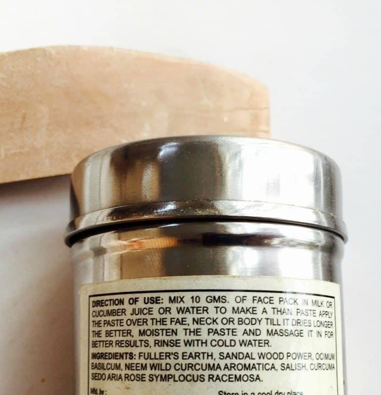 Khadi Sandalwood Herbal Face Pack 2