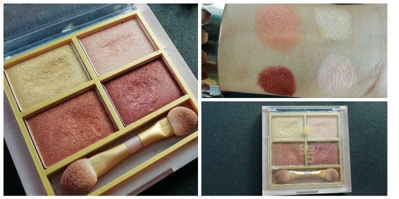 Lakme 9 To 5 Eye Colour Quartet Desert Rose