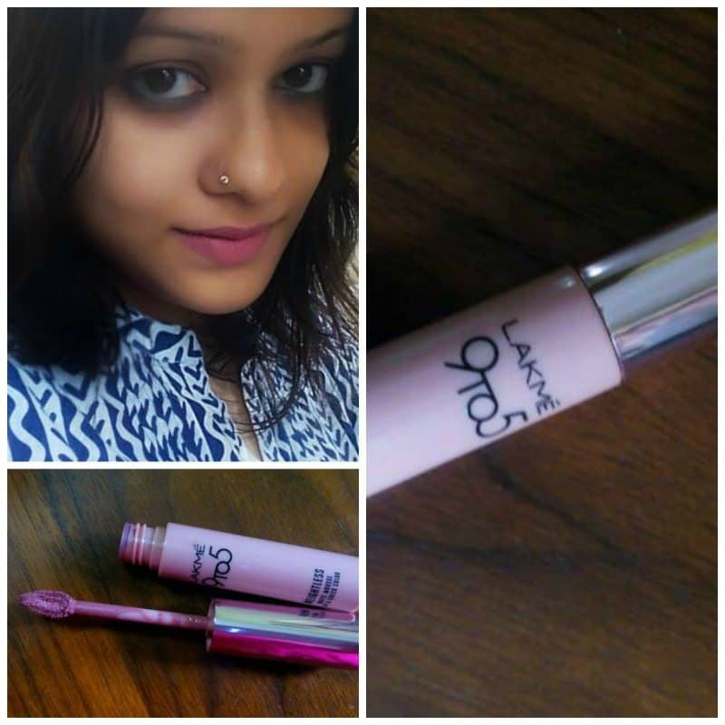 Lakme 9 to 5 Weightless Matte Mousse Lip and Cheek Colour Blush Velvet Review 5