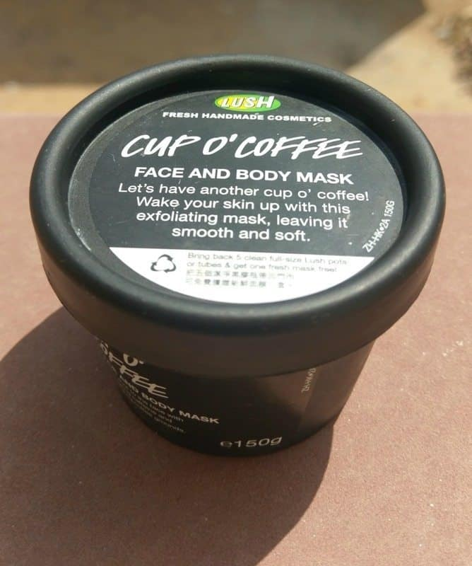 Lush Cup O' Coffee Face and Body Mask Review