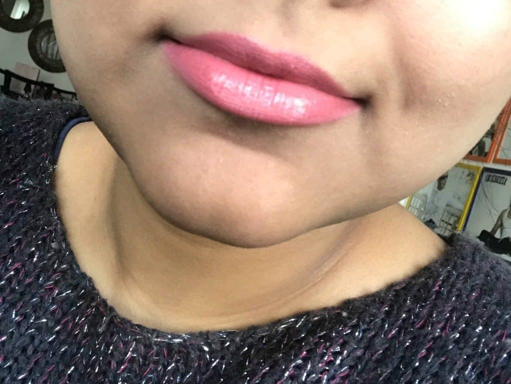MAC Sweetie Luster Lipstick Review  6